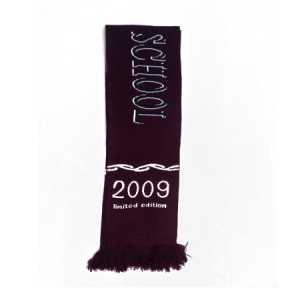 Rotorua Girls High School Scarf Navy/Maroon/White